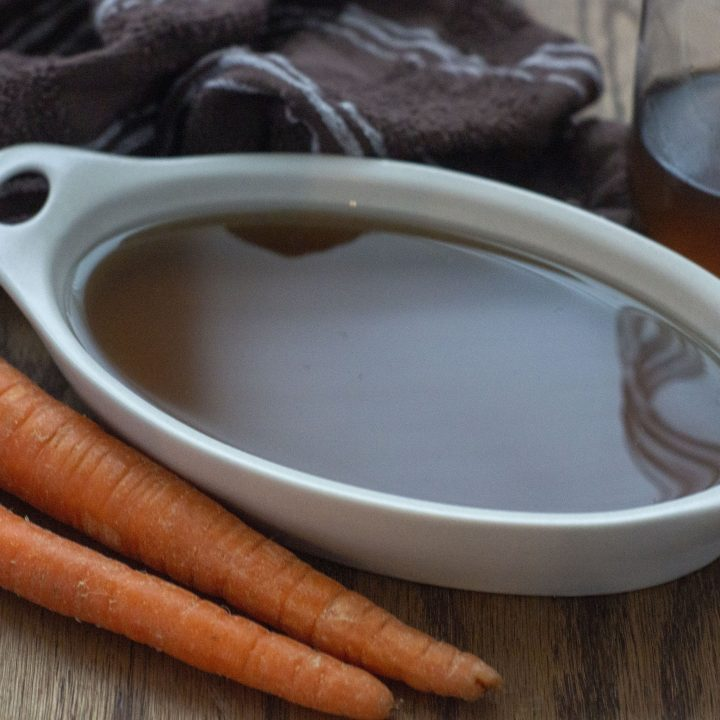 Slow Cooker Vegetable Broth Recipe