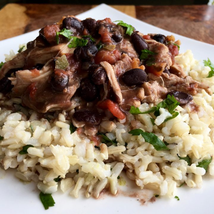 Mexican Chicken Recipe in a Slow Cooker