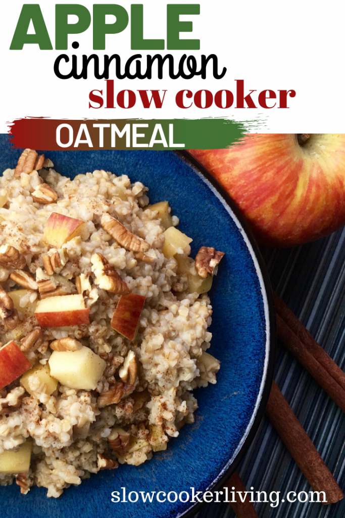 Oatmeal in Slow Cooker