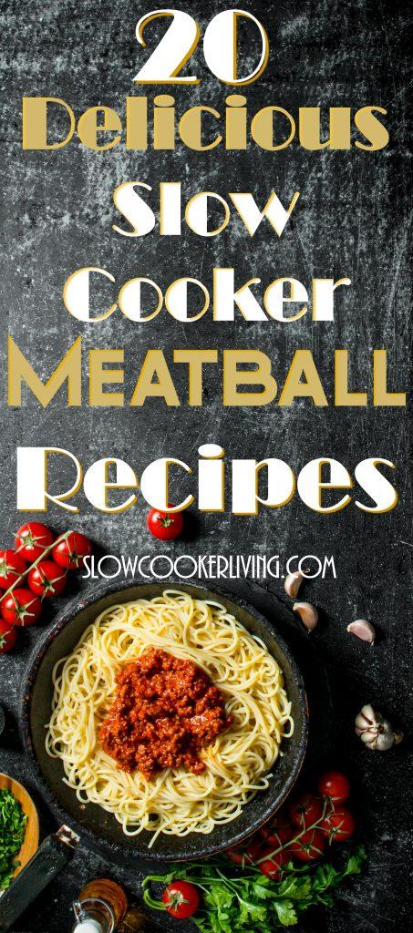 Slow Cooker Meatball