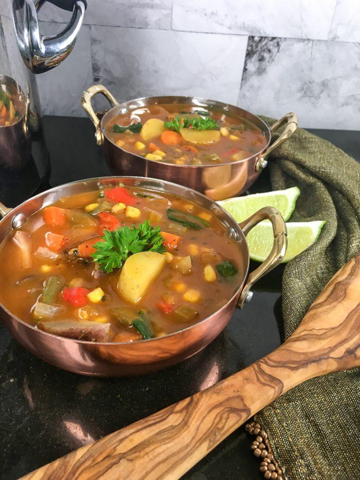 Sweet & Nutty Butternut Squash Soup Recipe