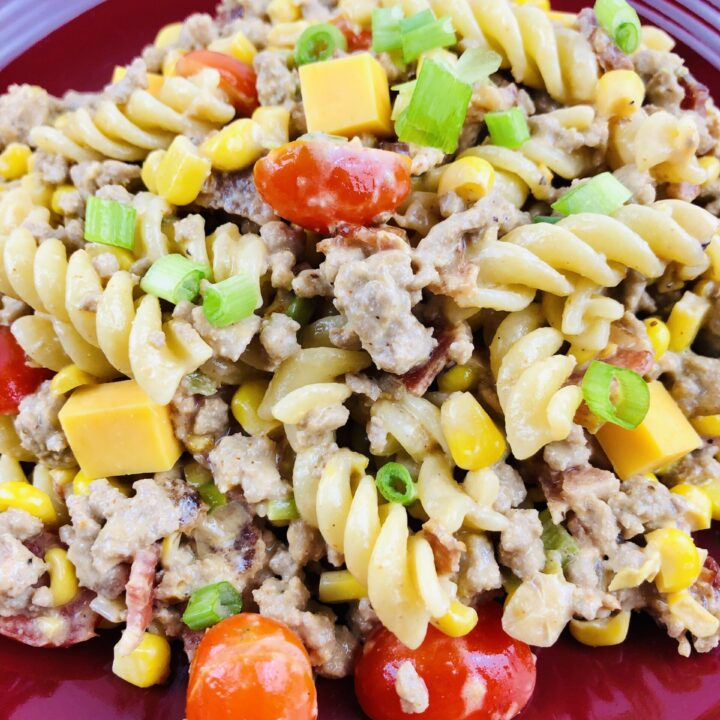 How to Make the Best Loaded Cowboy Pasta Salad