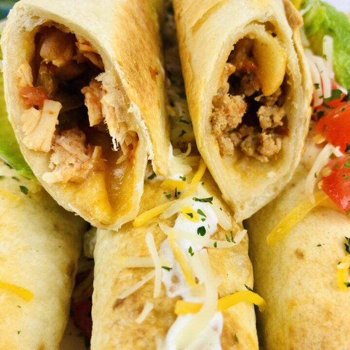 Baked Rolled Tacos
