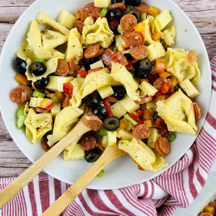 Loaded Tortellini Salad
